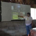 Capacitación sobre funcionamiento y construcción del sistema de tratamiento de las agus domésticas de la comunidad de Amagro.