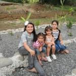 Las niñas de Amagro son felices, viven en un ambiente saludable.