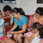 Segundo taller con el grupo de familias de la comunidad de San Rafael 2.