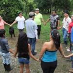Cuarto Taller con el grupo de familias de San Rafael 2
