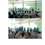 Primer encuentro entre las y los participantes de las comunidades de Santa Rita y Cebadilla