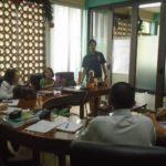 Planificación y coordinación de las acción de trabajo en MV