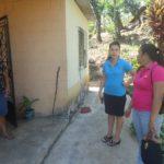 visita a la señora Buenaventura Chicas