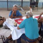 Actividad con adultos mayores