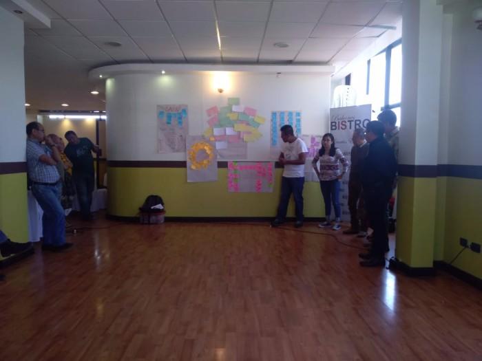 Modulo # 4 Árbol de la Felicidad, capacitación a Extensionistas de Agricultura Familiar y Hogar Rural sede Departamental Totonicapán