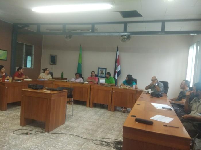 Socialialización EMV en el Consejo Cantonal de Coordinación Institucional (CCII) del cantón de Turrubares