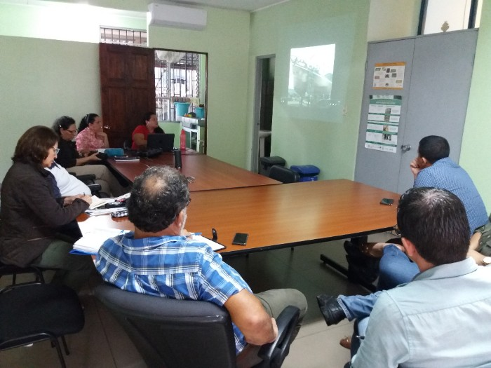 Reunión informativa con el equipo del Sector Agropecuario del Cantón vecino Corredores